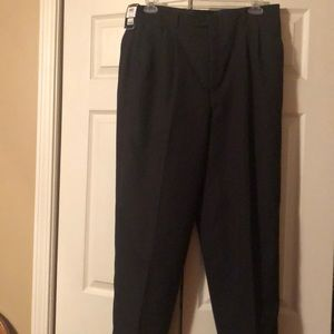 Claiborne size 38/32 pleated cuffed dress pants